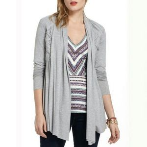 NEW Anthropologie Bailey 44 Open Front Cardigan